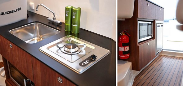 Galley with sink & tab
