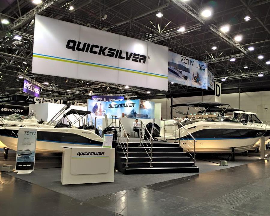 Ev nements foires bateaux quicksilver for Salon nautique nantes