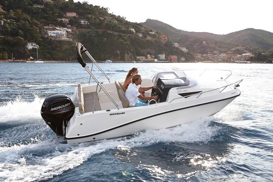 Activ 505 Cabin Quicksilver Boats