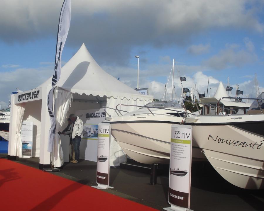 Salons nautiques et autres v nements bateaux quicksilver for Salon les nauticales