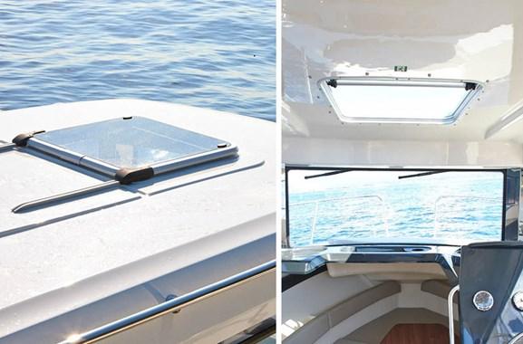 810 arvor quicksilver italia barche eleganti pratico sicuro - Finestre per barche ...