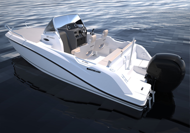QUICKSILVER LAUNCHES RENEWED ACTIV 605 AND 675 SUNDECK