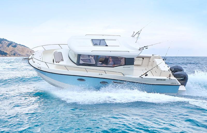 905 pilothouse quicksilver boats