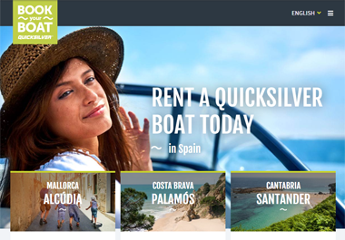 Quicksilver launches 'Book-Your-Boat'