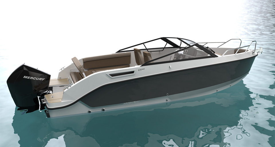 THE NEW QUICKSILVER ACTIV 675 BOWRIDER: IN TOUCH WITH THE WATER
