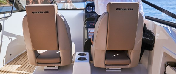Twin bolster seats