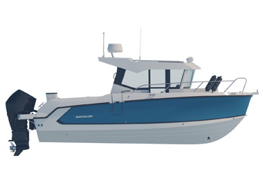 New 805 Pilothouse: Fishing redefined
