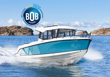 Quicksilver won the Best of Boats 2020 Award