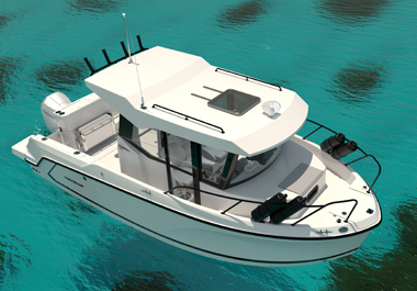 New 705 Pilothouse: For the Thrill of the Catch